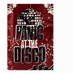 Panic At The Disco Poster Small Garden Flag (two Sides) by Onesevenart