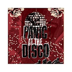 Panic At The Disco Poster Acrylic Tangram Puzzle (6  X 6 ) by Onesevenart