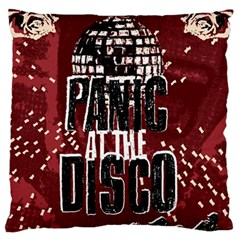 Panic At The Disco Poster Large Cushion Case (one Side) by Onesevenart