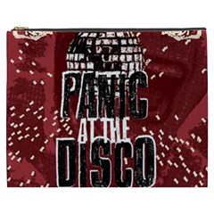 Panic At The Disco Poster Cosmetic Bag (xxxl)  by Onesevenart