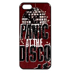 Panic At The Disco Poster Apple Iphone 5 Seamless Case (black) by Onesevenart