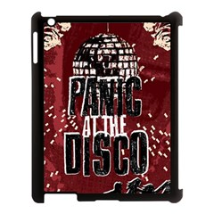 Panic At The Disco Poster Apple Ipad 3/4 Case (black) by Onesevenart
