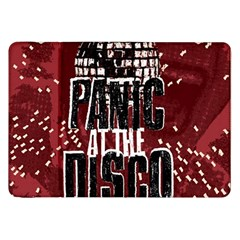 Panic At The Disco Poster Samsung Galaxy Tab 8 9  P7300 Flip Case by Onesevenart