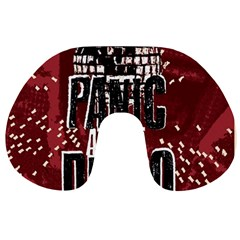 Panic At The Disco Poster Travel Neck Pillows by Onesevenart