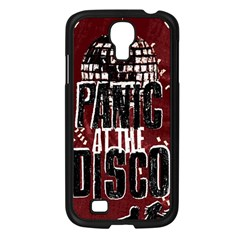 Panic At The Disco Poster Samsung Galaxy S4 I9500/ I9505 Case (black) by Onesevenart