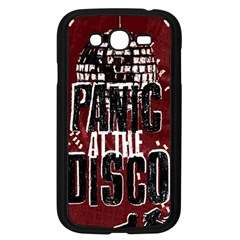 Panic At The Disco Poster Samsung Galaxy Grand Duos I9082 Case (black) by Onesevenart