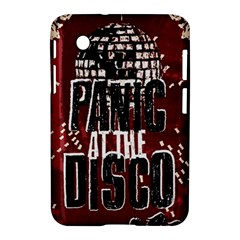 Panic At The Disco Poster Samsung Galaxy Tab 2 (7 ) P3100 Hardshell Case  by Onesevenart