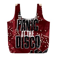 Panic At The Disco Poster Full Print Recycle Bags (l)  by Onesevenart