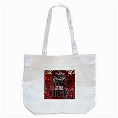 Panic At The Disco Poster Tote Bag (white) by Onesevenart