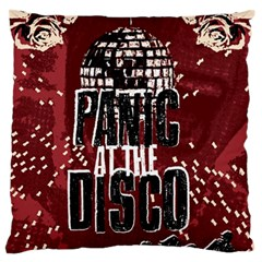 Panic At The Disco Poster Standard Flano Cushion Case (one Side) by Onesevenart