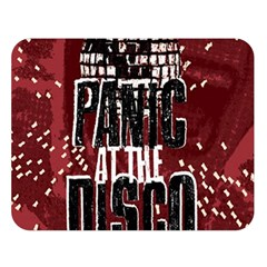 Panic At The Disco Poster Double Sided Flano Blanket (large)  by Onesevenart