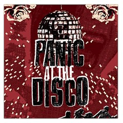 Panic At The Disco Poster Large Satin Scarf (square) by Onesevenart