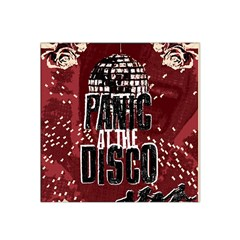 Panic At The Disco Poster Satin Bandana Scarf by Onesevenart