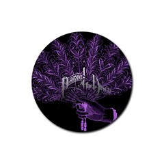 Panic At The Disco Rubber Coaster (round)  by Onesevenart