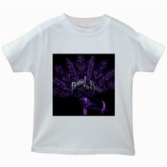 Panic At The Disco Kids White T Shirts by Onesevenart