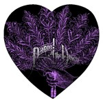 Panic At The Disco Jigsaw Puzzle (Heart)