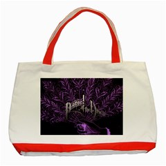 Panic At The Disco Classic Tote Bag (red) by Onesevenart