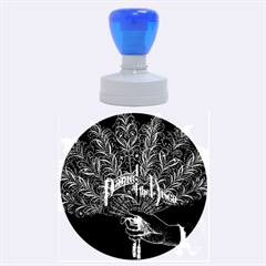 Panic At The Disco Rubber Round Stamps (large) by Onesevenart