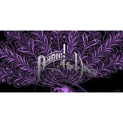 Panic At The Disco You Are Invited 3d Greeting Card (8x4) by Onesevenart