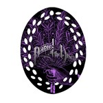 Panic At The Disco Oval Filigree Ornament (2-Side)