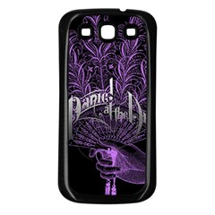 Panic At The Disco Samsung Galaxy S3 Back Case (black) by Onesevenart