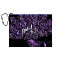 Panic At The Disco Canvas Cosmetic Bag (xl) by Onesevenart