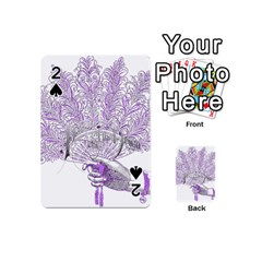 Panic At The Disco Playing Cards 54 (mini)  by Onesevenart