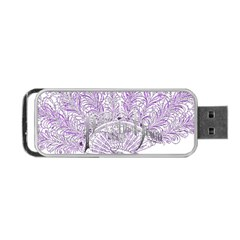 Panic At The Disco Portable Usb Flash (one Side) by Onesevenart