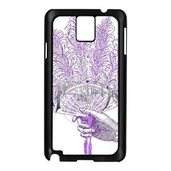 Panic At The Disco Samsung Galaxy Note 3 N9005 Case (black) by Onesevenart