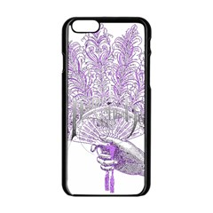 Panic At The Disco Apple Iphone 6/6s Black Enamel Case by Onesevenart