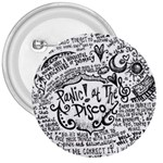 Panic! At The Disco Lyric Quotes 3  Buttons