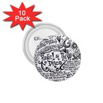 Panic! At The Disco Lyric Quotes 1.75  Buttons (10 pack)