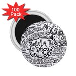 Panic! At The Disco Lyric Quotes 2.25  Magnets (100 pack)