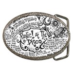 Panic! At The Disco Lyric Quotes Belt Buckles