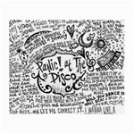 Panic! At The Disco Lyric Quotes Small Glasses Cloth