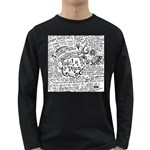 Panic! At The Disco Lyric Quotes Long Sleeve Dark T-Shirts