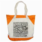 Panic! At The Disco Lyric Quotes Accent Tote Bag