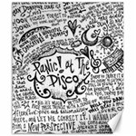 Panic! At The Disco Lyric Quotes Canvas 20  x 24