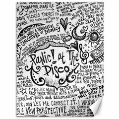 Panic! At The Disco Lyric Quotes Canvas 36  X 48   by Onesevenart