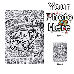 Panic! At The Disco Lyric Quotes Multi Purpose Cards (rectangle)  by Onesevenart