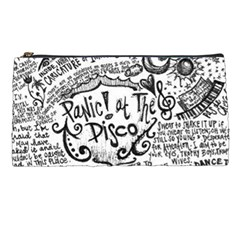 Panic! At The Disco Lyric Quotes Pencil Cases by Onesevenart