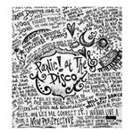 Panic! At The Disco Lyric Quotes Shower Curtain 66  x 72  (Large)