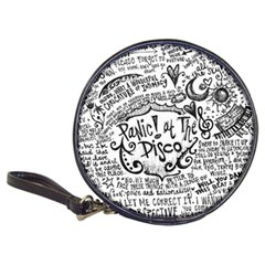 Panic! At The Disco Lyric Quotes Classic 20 Cd Wallets by Onesevenart