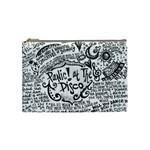 Panic! At The Disco Lyric Quotes Cosmetic Bag (Medium)