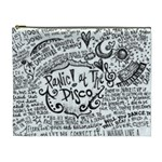 Panic! At The Disco Lyric Quotes Cosmetic Bag (XL)