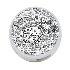 Panic! At The Disco Lyric Quotes 4 Port Usb Hub (two Sides)  by Onesevenart