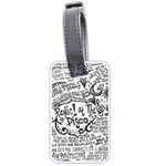 Panic! At The Disco Lyric Quotes Luggage Tags (Two Sides)