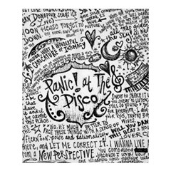 Panic! At The Disco Lyric Quotes Shower Curtain 60  X 72  (medium)