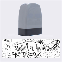 Panic! At The Disco Lyric Quotes Name Stamps by Onesevenart