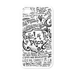 Panic! At The Disco Lyric Quotes Apple iPhone 4 Case (White)